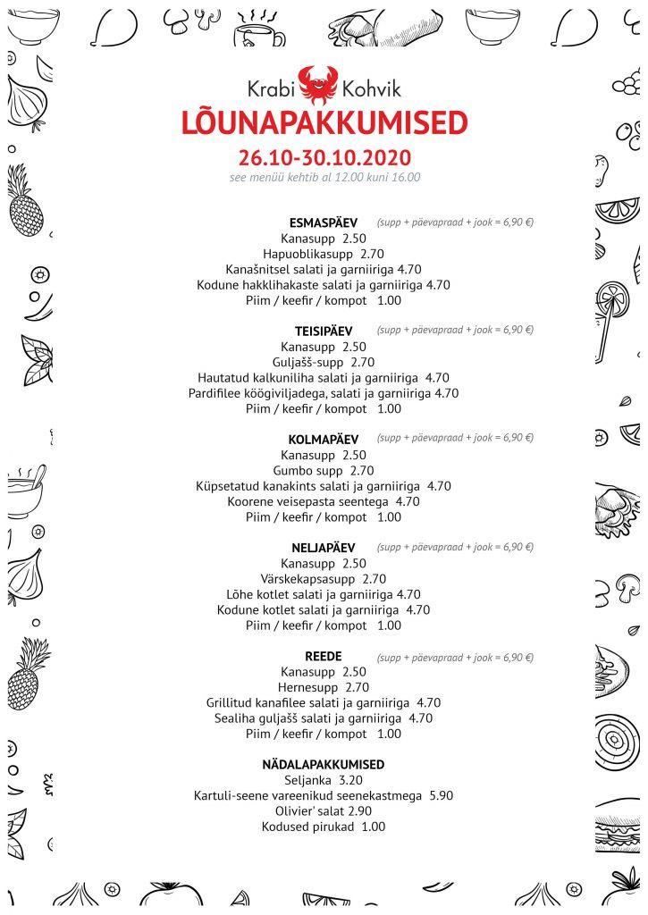 PAEVAMENUU - WEB 26.10-30.10